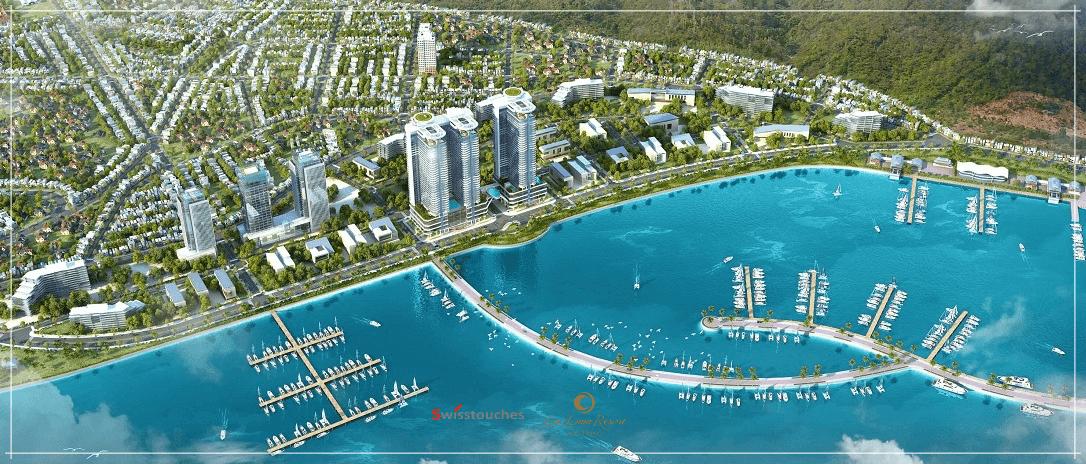 Phối cảnh dự án bến du thuyền Ana Marina Nha Trang