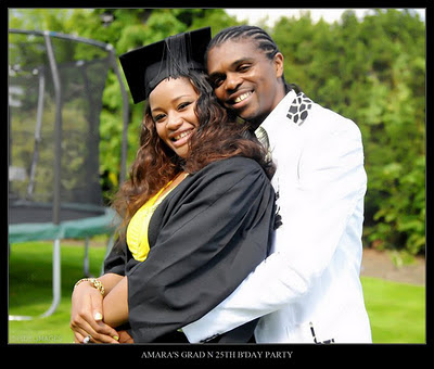 amaralindaikejiblog Photos from Kanu Nwankwos wifes 25th birthday and graduation