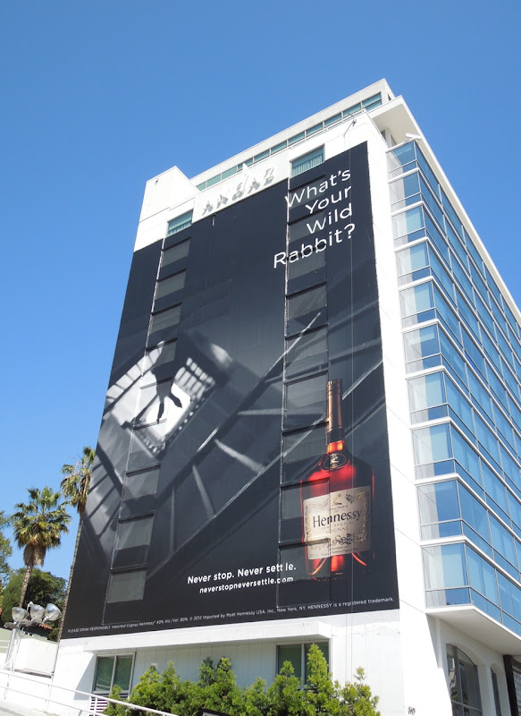 Hennessy Wild Rabbit billboard