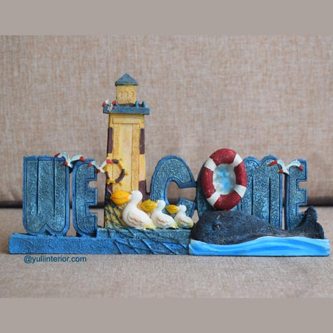 Welcome Ceramic Tabletop Decor Sign in Port Harcourt, Nigeria