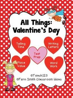 Valentine's Day - Math and Literacy Lessons