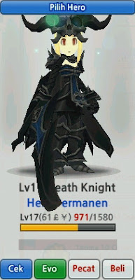 Death Knight Hero Evolution LostSaga Indonesia