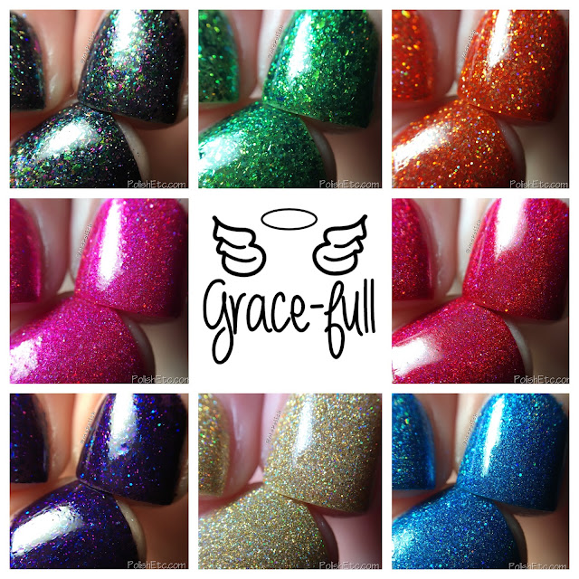Grace-full Nail Polish - Rainbow Sparklers - McPolish