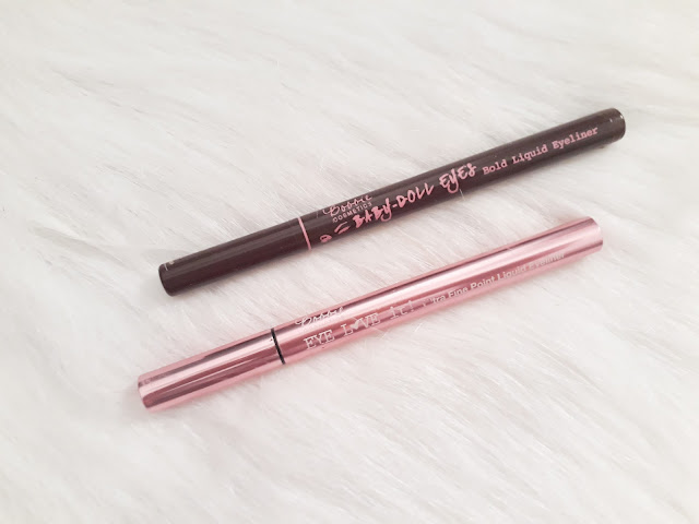 Bobbie Liquid Eye Liners: Baby Doll Eyes vs Eye Love It!