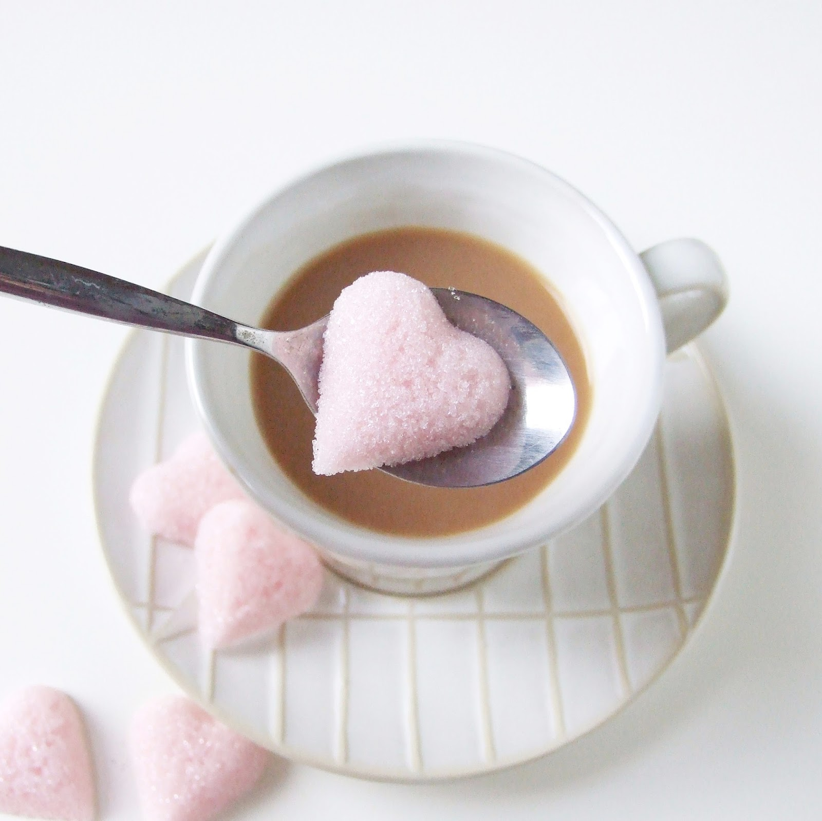 DIY SUGAR CUBE HEARTS. | Gathering Beauty
