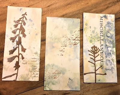 Sara Emily Barker http://sarascloset1.blogspot.com/ Field Notes Mini Album 3D Texture Fade Lumber 10