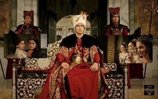 Istanbul,ceremonia de încoronare a tânărului sultan