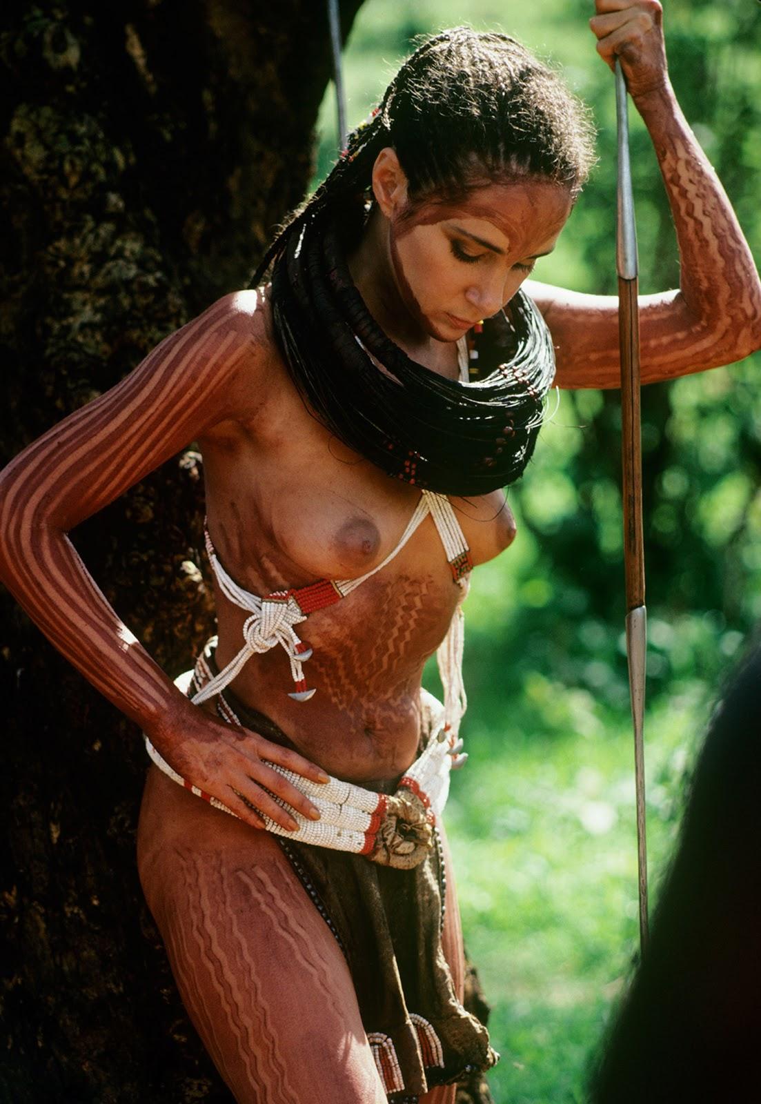 "Hairstyle Nudes: Pamela Bellwood (""Dynasty"")"
