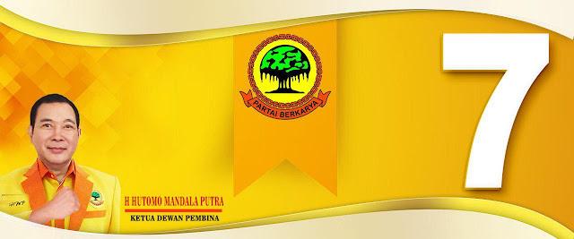 Partai Tommy Soeharto Dapat Nomor 7 Peserta Pemilu 2019