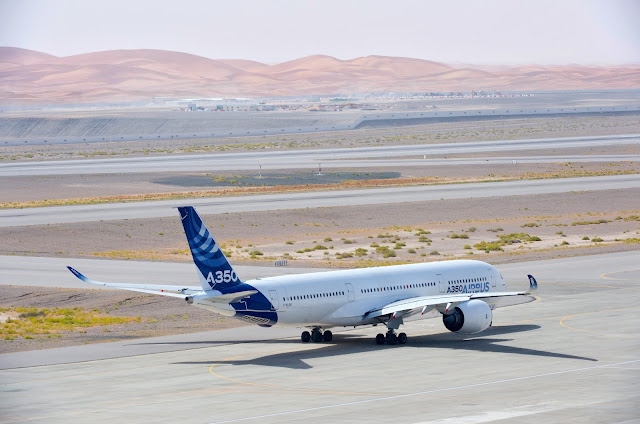 Airbus A350 XWB Sun-Drenched and Heat Soak Test