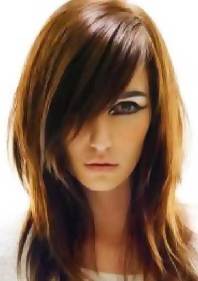model potongan rambut panjang style terbaru