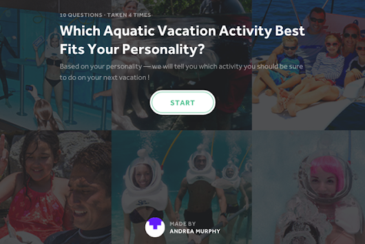 What Aquatic Vacation Activity Best Fits Your Personality?