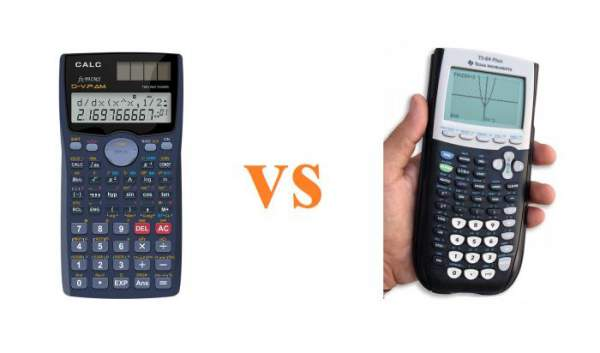 Perbedaan kalkulator scientific vs grafik