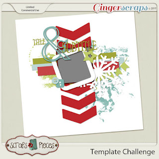 Template : November 2017 Template Challenge 1 by Scraps n Pieces