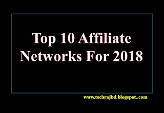 Top 10 Affiliate Networks For 2018