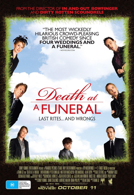 zgon na pogrzebie film brytyjski 2007 dinklage