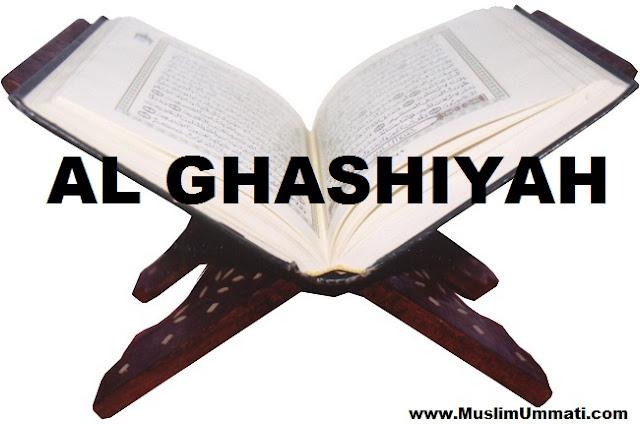 88 Surah Al Ghashiyah