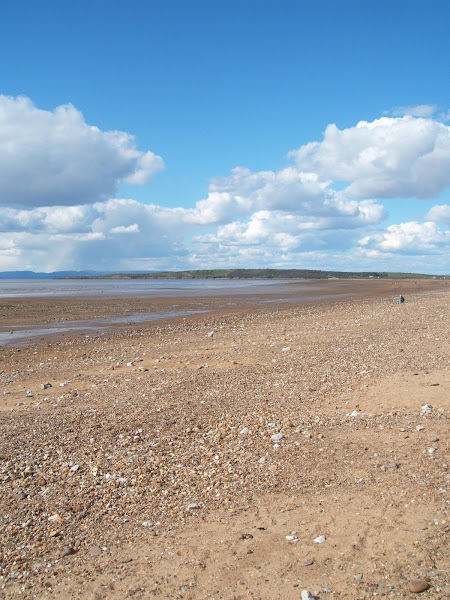sweeping photo of somerset coastline towards sand point