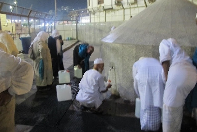 Jamaah Haji Dihimbau Perbanyak Minum Air Putih
