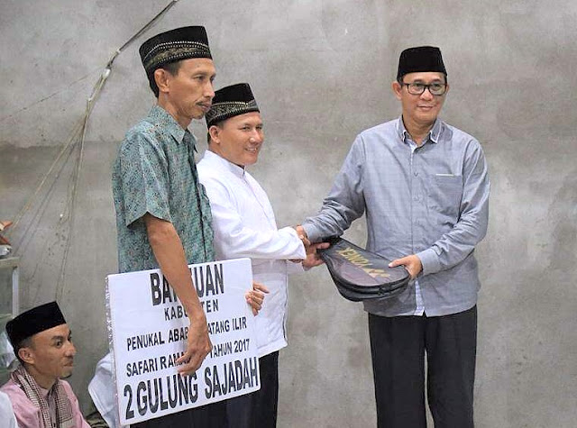 Safari Ramadhan Dimulai Dari Desa Ini, Berikut Alasan Bupati PALI