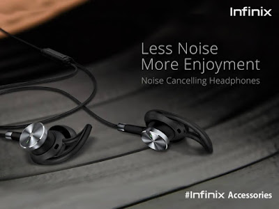 infinix headphone