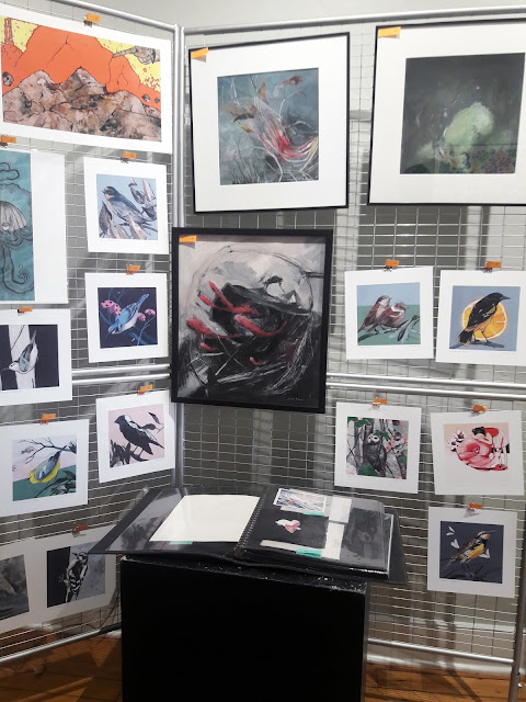 Lookee Hear pop-up shop print and art display by Steph Holmes and Andrew D Yeager