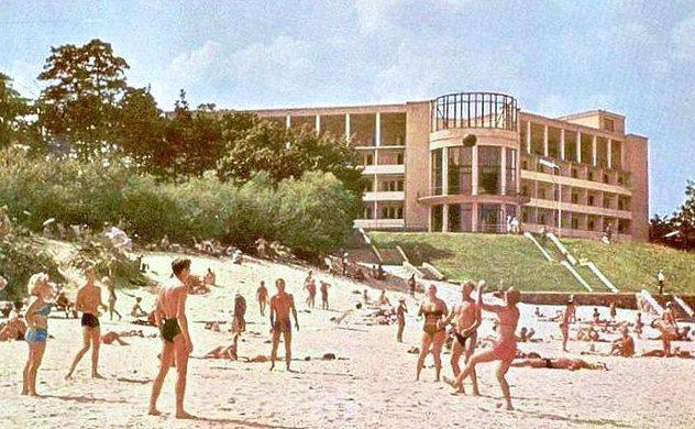 1968 год. Строительство нового корпуса №2 ДКБФ.