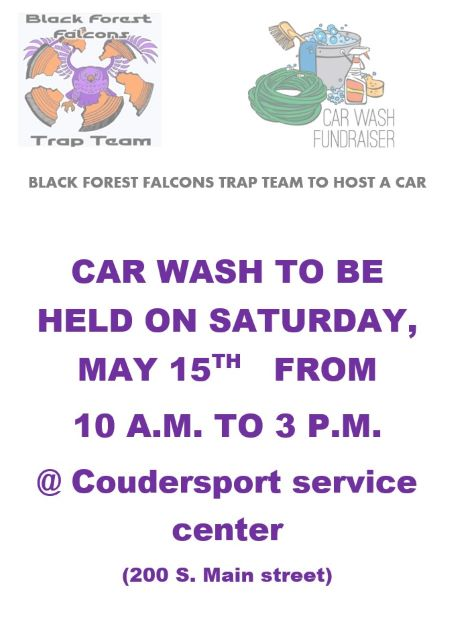 5-15 Blackforest Trap Team Car Wash