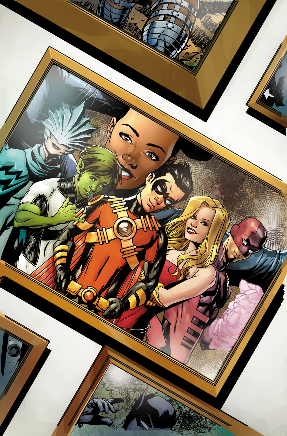 Weird Science Dc Comics Teen Titans 24 Review And -4416