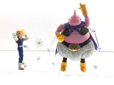 S.H.Figuarts Majin Vegeta y Majin Buu de Dragon Ball Z