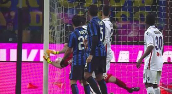 Inter Bologna 2-1 HIGHLIGHTS video gol sintesi
