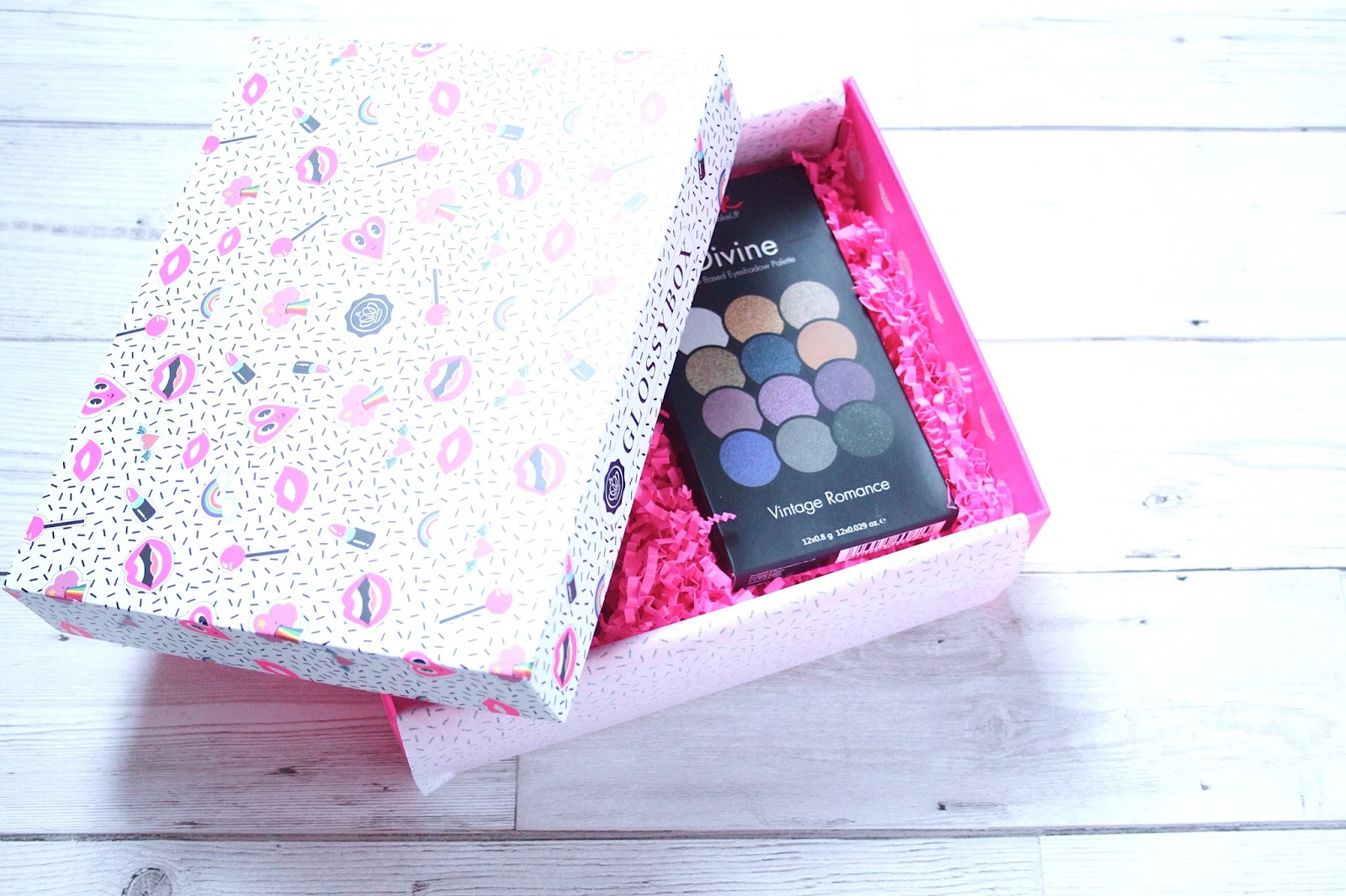 glossybox, beautybox, subscription box,