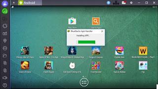 Nikmati Android  Dalam PC Dengan Bluestack