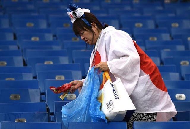 Tersingkir di 16 Besar, Jepang Justru Bikin Kagum Setelah Foto Ruang Gantinya Beredar di Medsos