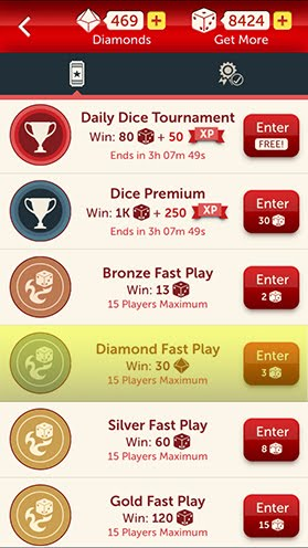 1 Every Day There Is A Daily Challenge To Earn Both Bonus Rolls And Diamonds Today S Was Complete 3 Gold Fast Play Tournaments Cost 45