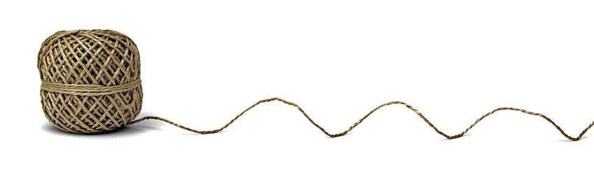 straight piece of string - 849×274