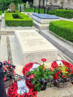 Sir Winston Churchill's Grave at St Martin's Bladon