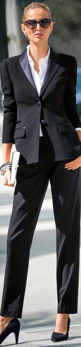 MADELEINE BLAZER AND TROUSERS