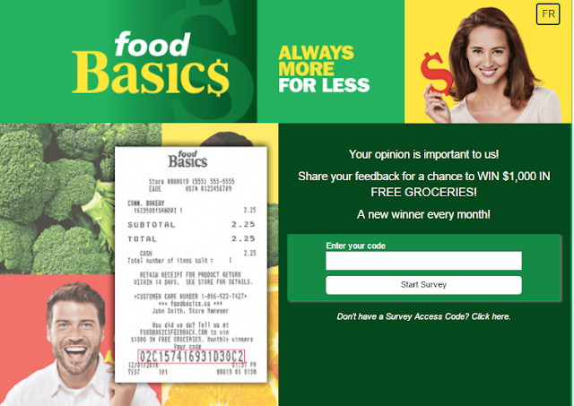 Win free groceries from Food basics