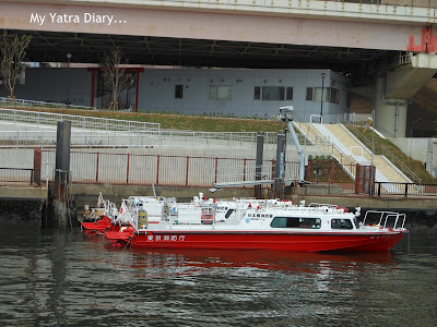 Different boat..Sumida River cruise, Tokyo - Japan