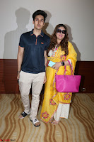 Govinda with wife Sunita Ahuja and Son Yashvardan Ahuja at Screening Of her new movie Aa a Hero 19.JPG
