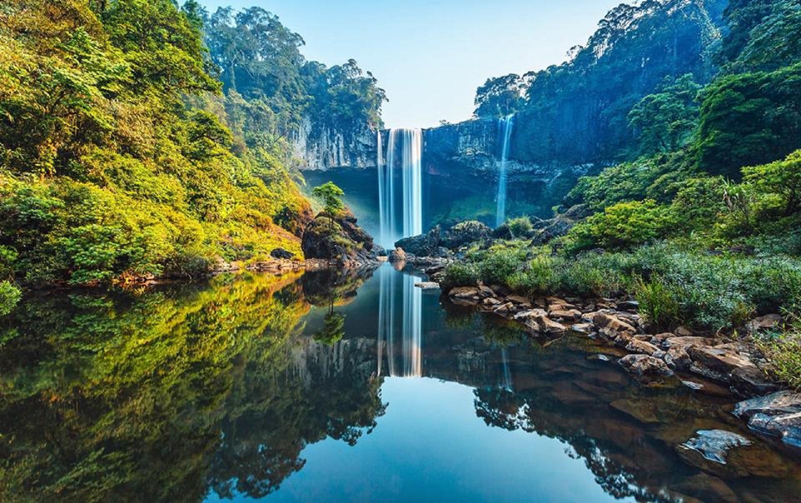 Gia Lai: Khám phá cảnh đẹp như tranh vẽ ở thác K50