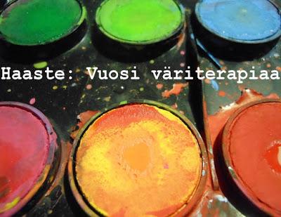 Vuosi väriterapiaa