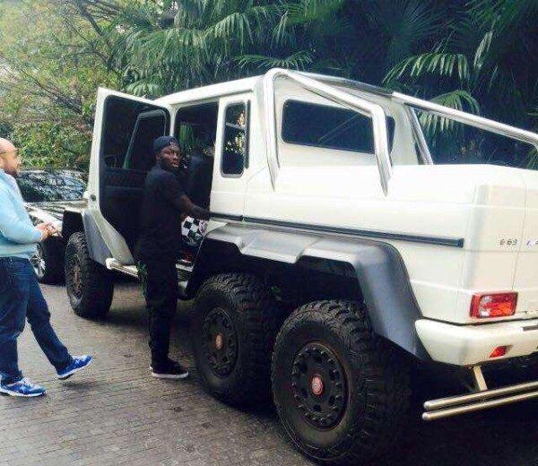 Police seize Muntari's Mercedes AMG G63 in Italy