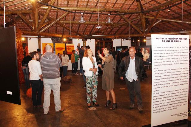 I Mostra de Artistas Residentes no Vale do Ribeira prossegue até 3005 no Espaço Cultural