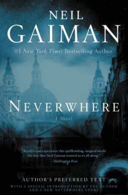 Neverwhere by Neil Gaiman - book cover