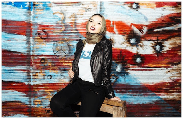 Noor Tagouri Muslim Hijabi Playboy