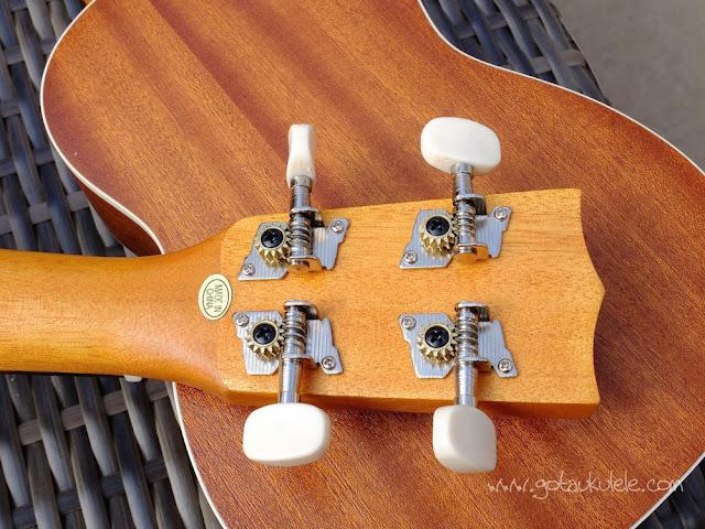 geared ukulele tuners