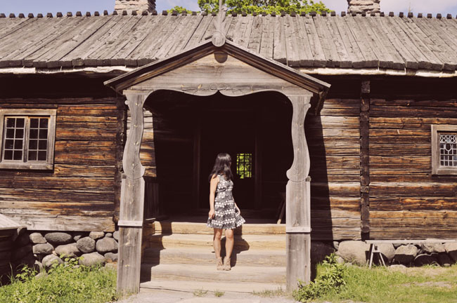 Best Stockholm Instagram Spots - Skansen log cabin