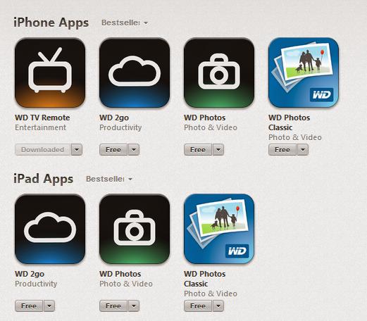 Wd App Setup